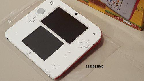 Nintendo 2ds Edicion Super Mario Bros 2 Nueva, Flasheada!!!