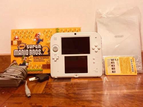 Nintendo 2ds New Super Mario Bros 2 + Cargador