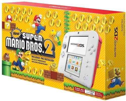 Nintendo 2ds New Super Mario Bros 2 Edition
