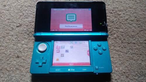 Nintendo 3ds + 2 Juegos + Estuche Y Accesorios Originales