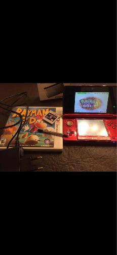 Nintendo 3ds Roja Semi Nueva