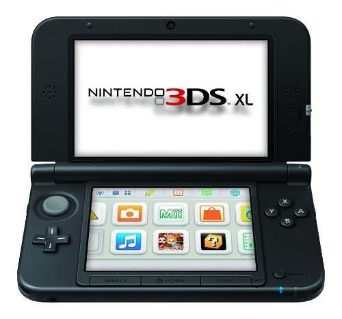 Nintendo 3ds Xl Con 3 Juegos