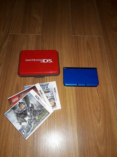 Nintendo 3ds Xl Con 5 Juegos