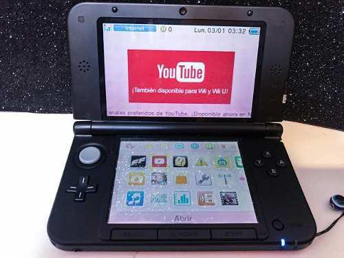 Nintendo 3ds Xl Con Dos Juegos En Caja. Consola Old School