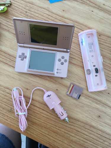 Nintendo Ds - Rosa + Pack De Juegos Sd