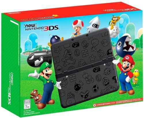Nintendo Nuevo Nintendo 3ds Súper Mario Negro Edición - Ni