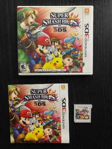 Súper Smash Bros For Nintendo 3ds Excelente Estado!