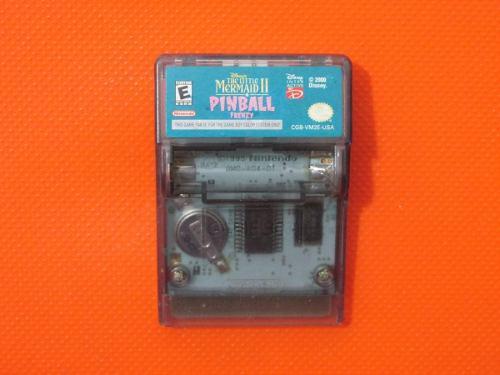The Little Mermaid 2 Pinball Frenzy Original Para Game Boy