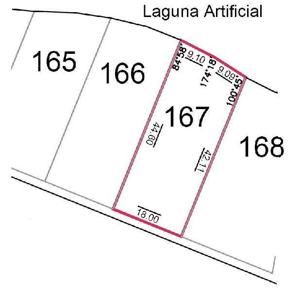 VENTA de INIGUALABLE LOTE en LA PEREGRINA. 825,98 M2 Fondo