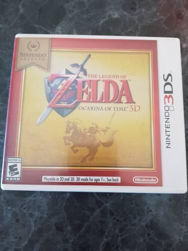 Vendo Juego Para Nintendo 3ds Zelda Ocarina Of Time 3d