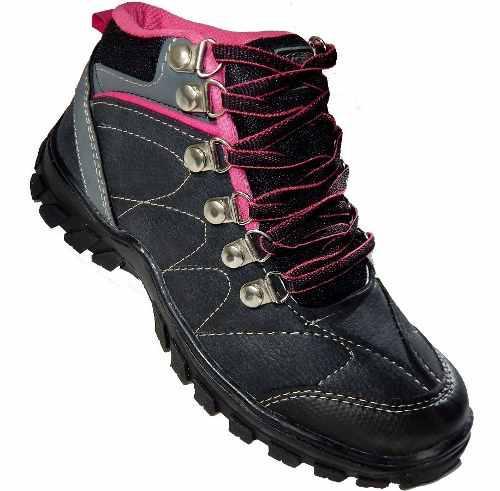 Botas Mujer Nieve Trekking Resitente Agua Nieve - Jeans710