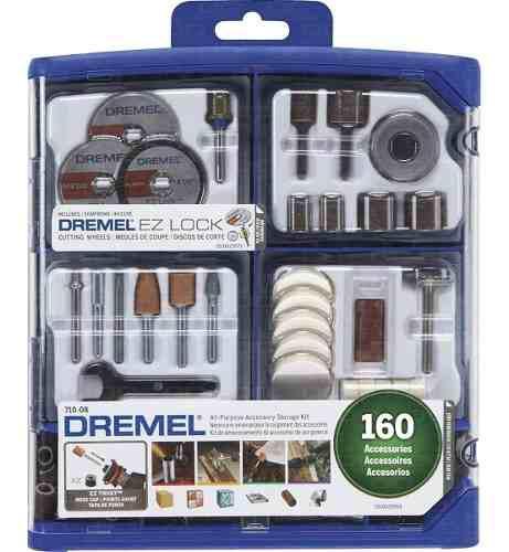 Kit Set Accesorios Minitorno 710 Dremel 3000 4000 160 Piezas