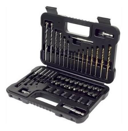 Set 50 Accesorios Titanium P/ Taladro A7188xj Black Decker