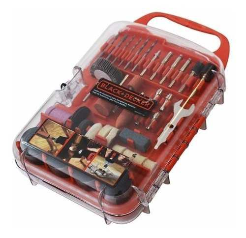 Set Kit Accesorios Minitorno 175 Piezas Black Decker Bda3037