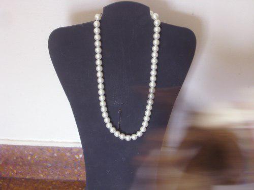 Antiguo Collar Retro Vintage Japon De Perlas Cºbla67v