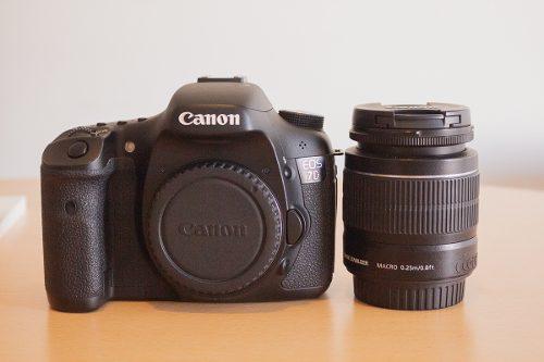 Canon 7d Reflex+lente Canon 18-55,todo En Excelente Estado.
