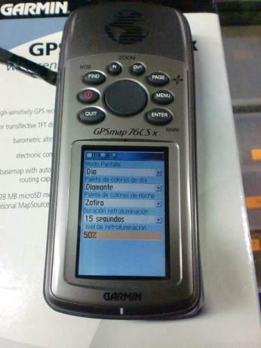 Gps Garmin 76csx A Reparar Caja Accesorios Nanuales