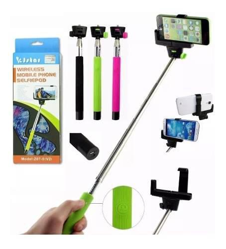 Palo Selfie Stick Para Celulares Y Camaras Con Accesorios
