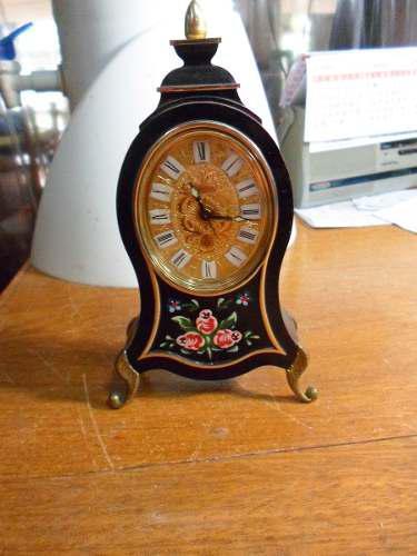 Antiguo Reloj Aleman De Mesa Blessing Europa Musical Funcion