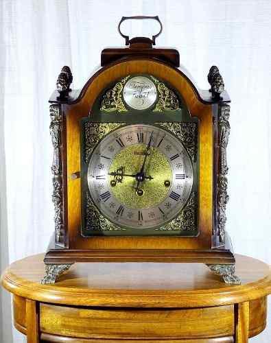 Antiguo Reloj Carrillon De Mesa, Soneria Cada 15 Minutos, Me