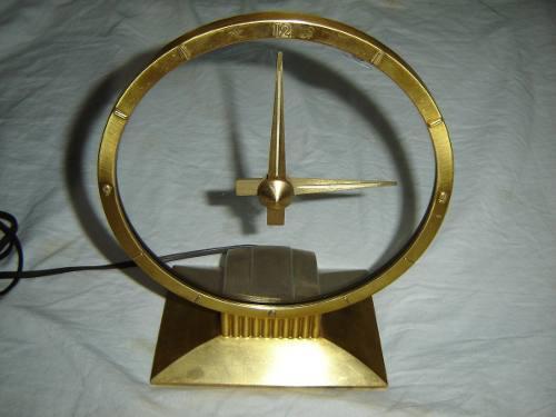 Antiguo Reloj De Mesa Jefferson Made In Usa Funciona Envio