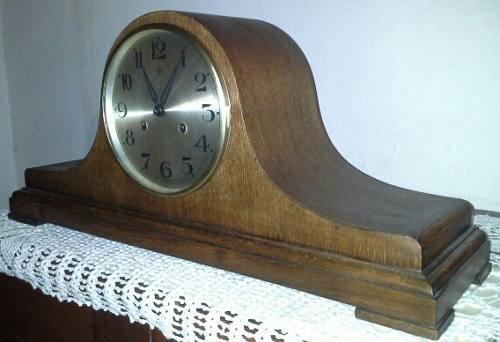 Antiguo Reloj De Mesa Junghans Wurttemberg W205 M/carillon