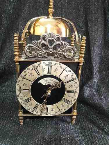 Antiguo Reloj De Mesa London Con Soneria Funcionando