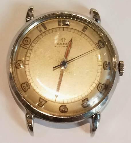 Antiguo Reloj Omega Automatic Bumper Militar Pulsera Hombre