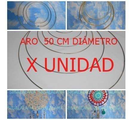 Aro Mandalas Armazón 50cm, Pantallas Y Artesanias