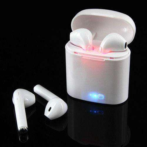 Auriculares simil airpods base power bank