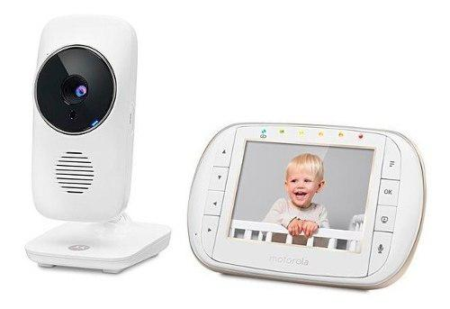 Baby Call Motorola Video Baby Monitor Con Camara 3.5 Y Wifi