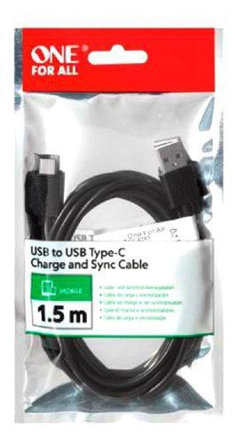 Cable Para Carga Y Datos Usb A Tipo C One For All