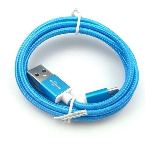 Cable Usb Tipo C 1.5 Metros Mallado - Polotecno