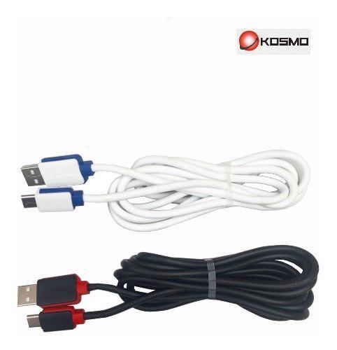 Cable Usb Tipo C Kosmo De Carga Rápida 3 Metros 2.1 Amper