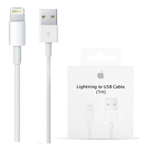 Cable iPhone 5 6 7 8 Plus X Usb Lightning Apple Original 1m