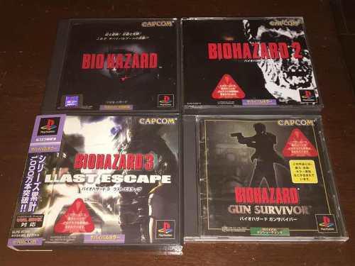 Colección Biohazard + Play 1 Japonesa Sin Chip Envio Gratis