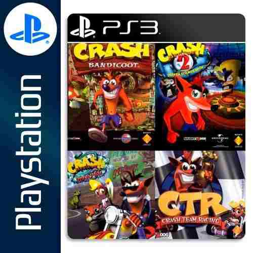 Crash Bandicoot Collection Ps3 Rapido