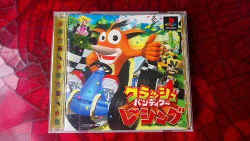 Crash Team Racing Original Ps1 Jap