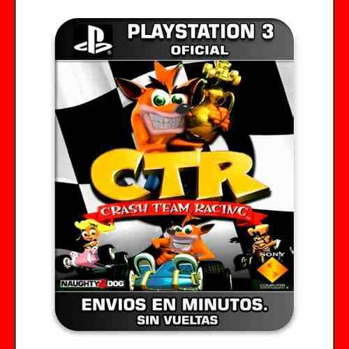 Ctr Crash Team Racing Ps3 15' Min
