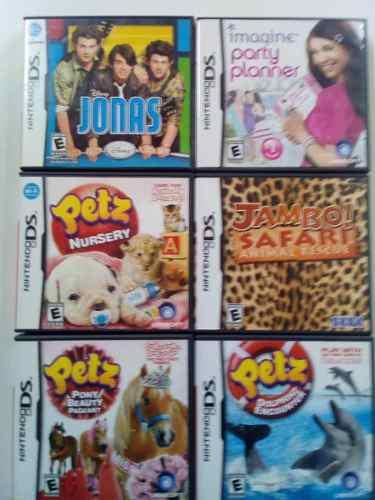 Lote 6 Juegos De Nintendo
