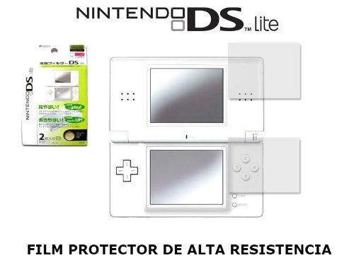 Protector Flim De Patalla Screen Guard Nintendo Ds Lite