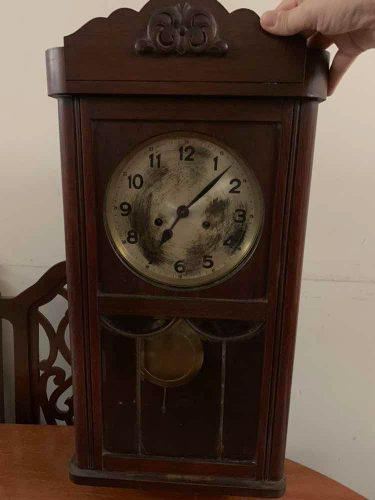 Reloj Antiguo Con Pendulo