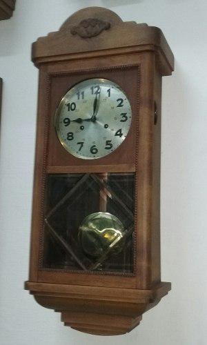 Reloj Antiguo De Pared Junghans C325 Wunttemberg Aleman