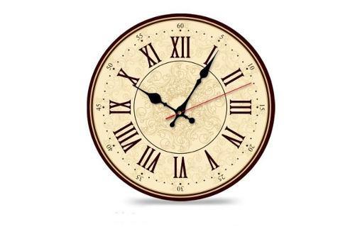 Reloj De Pared Estilo Retro Vintage, Grande, Varios Motivos
