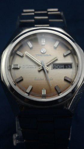 Reloj Tressa Automático Antiguo Suizo