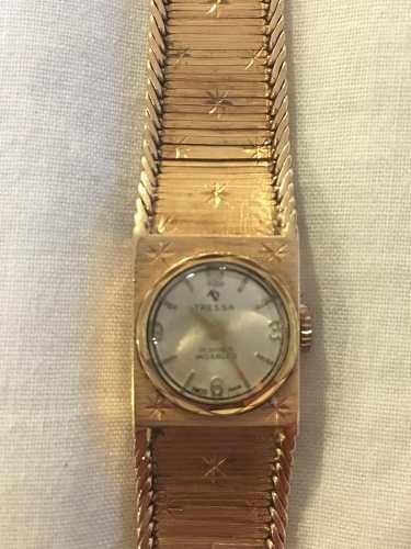 Reloj Tressa Oro Antiguo Joyeria