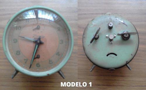 Relojes Despertadores Antiguos. Varios Modelos.
