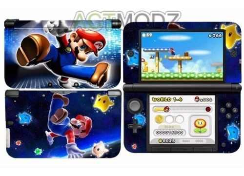 Skin Nintendo 3ds Super Mario Bross