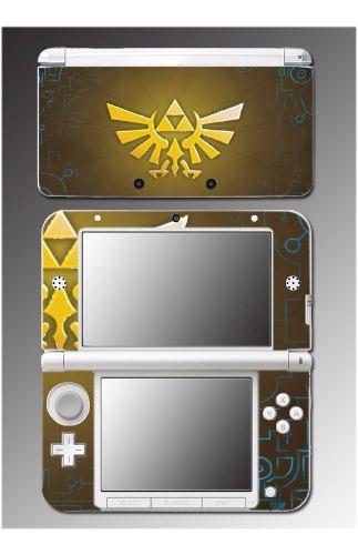 Skin Nintendo 3ds Zelda Tri Force