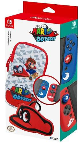 Sw Super Mario Odyssey Accessory Set Officially Licensed